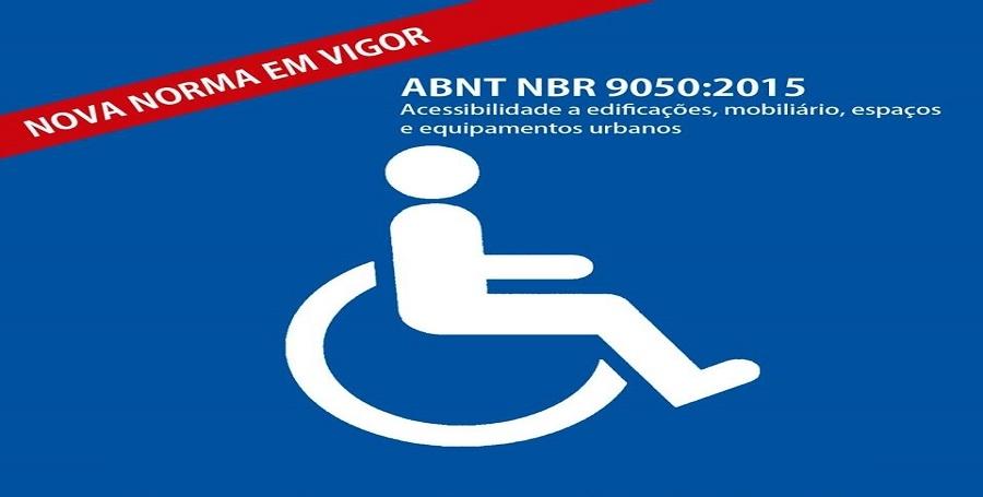 A NBR 9050 (Acessibilidade) Agora é Lei